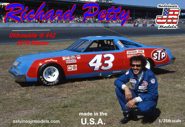 Salvino's JR Models Richard Petty NASCAR