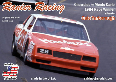 Salvino's JR Models Cale Yarborough 1984  Hardee's Monte Carlo