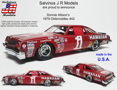 Salvino's Donnie Allison's Hawaiian Tropic Stock Car
