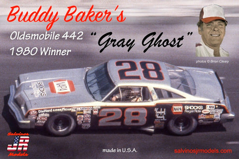"Buddy Baker ""Gray Ghost"" Stock Car"