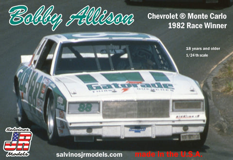 Salvino's JR Models Bobby Allison Chevrolet ® Monte Carlo 1982 Race Winner