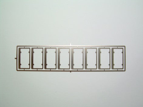 PTMC 15- License Plate Frames 1/25 scale