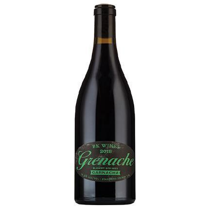 BK Wines Grenache, Blewitt Springs 2018 - Community Wines