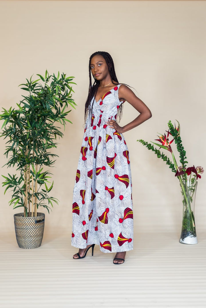 Ngozi Backless dress