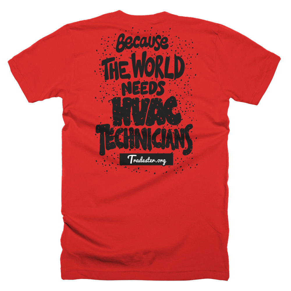 HVAC T-Shirt (front and back)