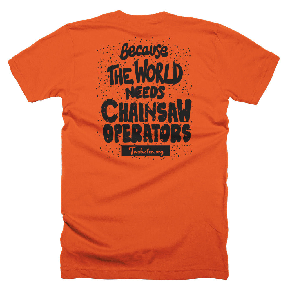 Chainsaw T-Shirt (front and back)