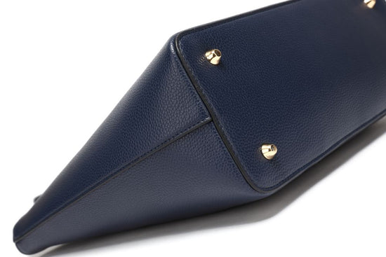 The Classic Tote - Navy Blue - Vie Verte