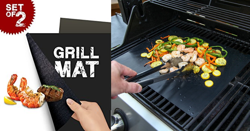 Non Stick Reusable BBQ Grilling Mat