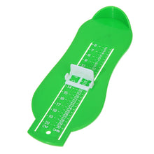 Load image into Gallery viewer, Kids Foot Size Measuring Ruler