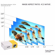 Load image into Gallery viewer, Mini Portable LCD Projector