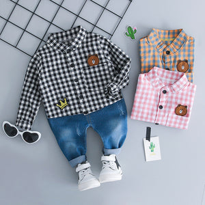 Handsome - Hot Style Kids Clothing Casual Set