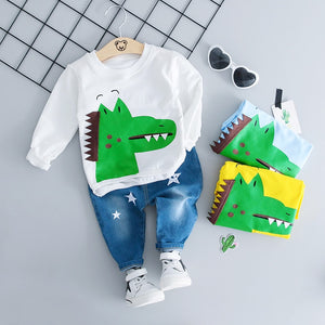 Alligatooor - Hot Style Kids Clothing Casual Set