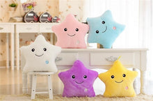 Load image into Gallery viewer, Luminous Plush Star Pillow