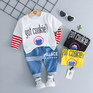 Cookie Palace - Hot Style Kids Clothing Casual Set