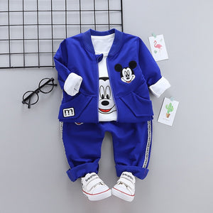 Mickey - 3 Pieces Clothing Set (Coat, T-Shirt, Pants)