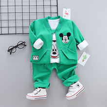Load image into Gallery viewer, Mickey - 3 Pieces Clothing Set (Coat, T-Shirt, Pants)