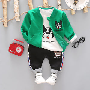 Magic Pit - 3 Pieces Clothing Set (Coat, T-Shirt, Pants)