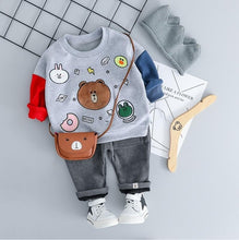 Load image into Gallery viewer, Bear with me - Hot Style Kids Casual Winter Plush Set