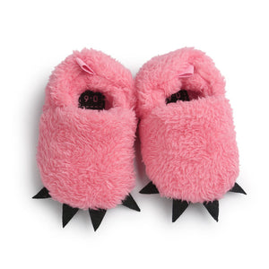 Monster Paw Baby Worm Slippers