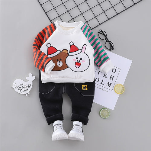 Snowy Bearabbit - Hot Style Kids Casual Winter Plush Set
