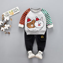 Load image into Gallery viewer, Snowy Bearabbit - Hot Style Kids Casual Winter Plush Set