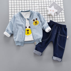 Bearing - 3 Pieces Clothing Set (Coat, T-Shirt, Pants)