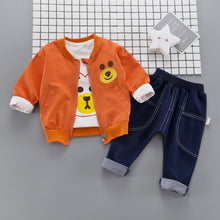 Load image into Gallery viewer, Bearing - 3 Pieces Clothing Set (Coat, T-Shirt, Pants)