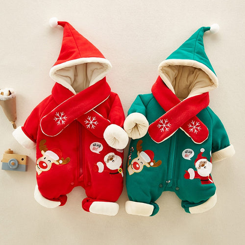 Doozer - Christmas Jumpsuits Warm Plush
