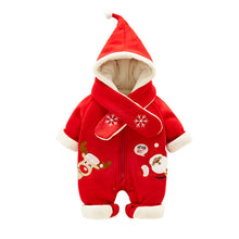 Load image into Gallery viewer, Doozer - Christmas Jumpsuits Warm Plush
