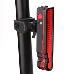 Spider Laser USB Rechargeable LED Bicycle Light