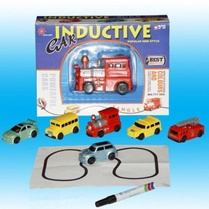 Magic Pen Inductive Toy Truck