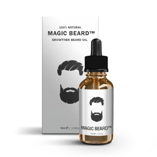MagicBeard™ Natural Beard Oil