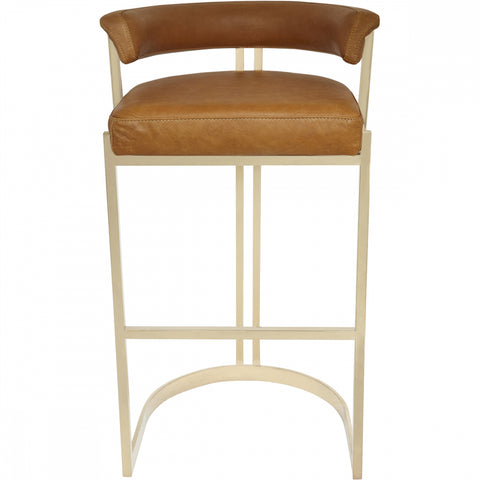 Morgan Bar Stool - Honey - Casa Divano