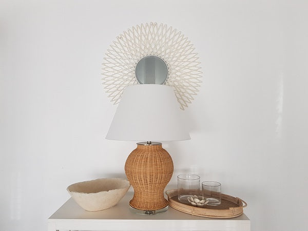 Rattan Oval Trays set of 2