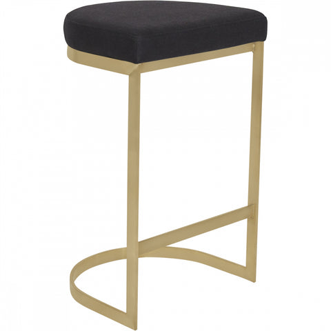 York Stool - Black - Casa Divano