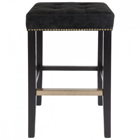 Canyon Bar Stool - Black - Casa Divano
