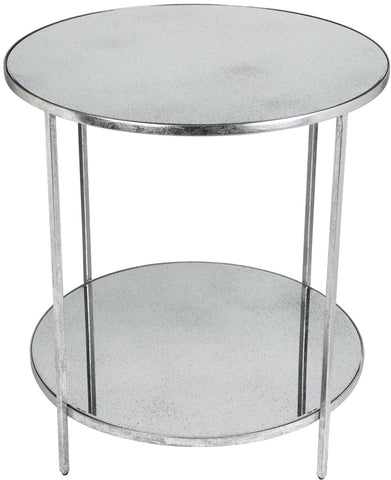 Aisha Table - Silver Leaf - Casa Divano