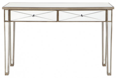 Apolo Console Table - Antique Gold - Casa Divano