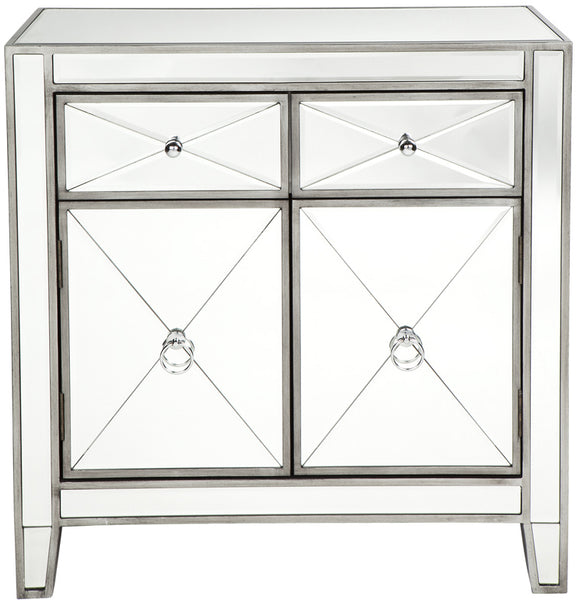 Apolo Cabinet - Antique Silver - Casa Divano