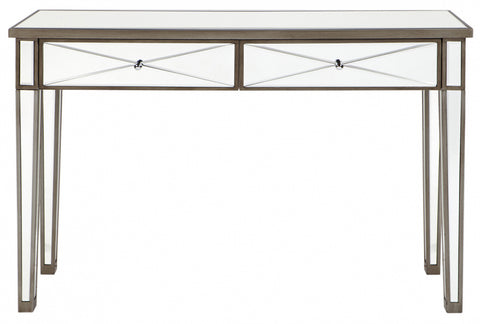 Apolo Console Table - Antique Silver - Casa Divano