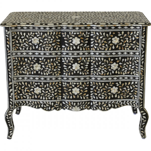 Aria Bone Inlay Chest - Casa Divano