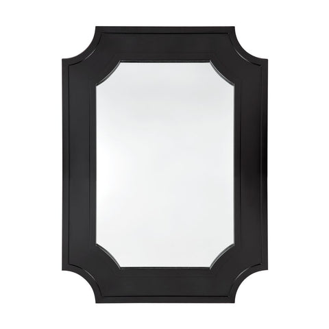 Bungalow Wall Mirror - Black - Casa Divano