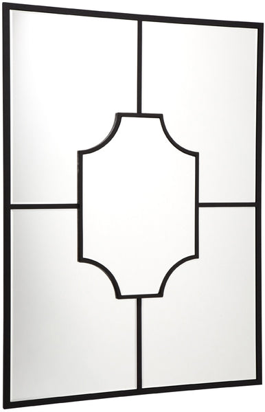 Boyd Wall Mirror - Black - Casa Divano