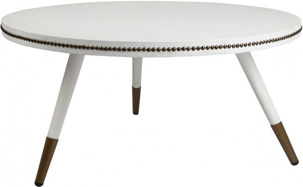 Danish Coffee Table - White - Casa Divano
