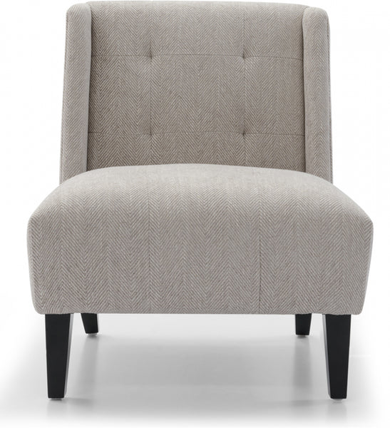 Duchess Arm Chair - CHEVRON GREY - Casa Divano