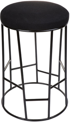 Aiden Kitchen Stool - Black - Casa Divano