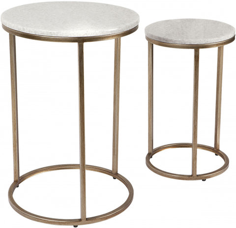 Chloe Nest of Tables - Gold - Casa Divano