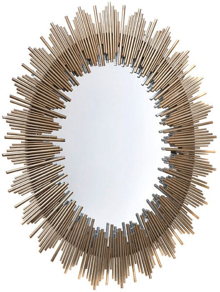 Franklin Mirror - Antique Gold - Casa Divano