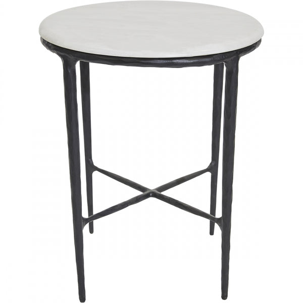 Heston Side Table - Black - Casa Divano