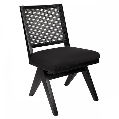 The Imperial Dining Chair - BLACK - Casa Divano